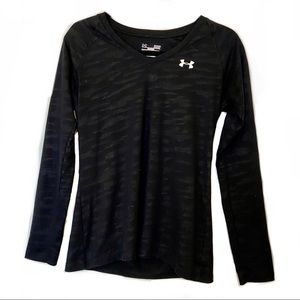 Under Armour Semi Fitted Long Sleeve T Shirt Small